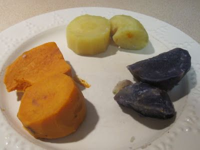 How to differentiate Yams, Sweet Potatoes and Cassava by Cannundrums