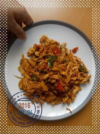 Ayam Suwir Masak Simpel dan Cepet!!!