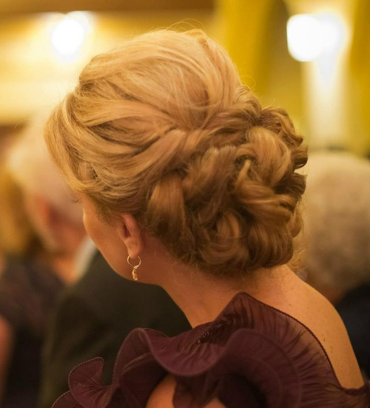 Curly Updo The One I Went With Actual Photo Of My Quot Do