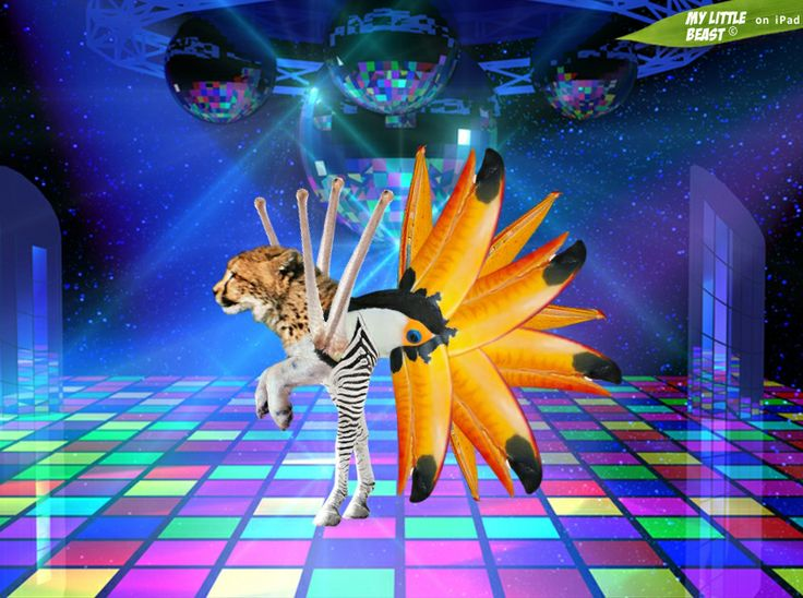Let's party, it's Friday!   Created with the awesome My Little Beast app. Download here: LITE: https://itunes.apple.com/app/id824876886 FULL: https://itunes.apple.com/app/id815685056