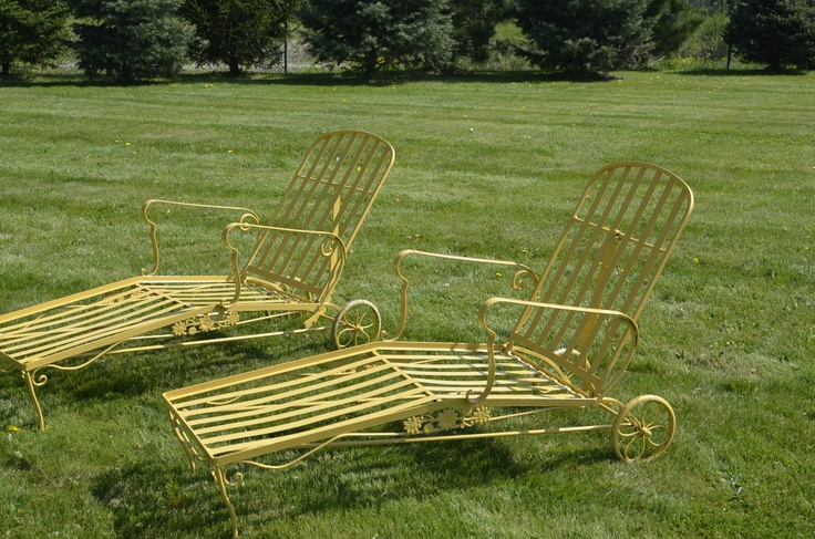 Best 25  Wrought Iron Chaise Lounge Chairs