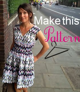 Free pattern- women's dress