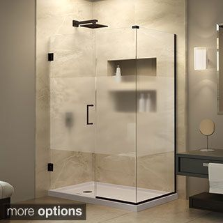 59 best glass shower door examples images on pinterest glass vigo 60 inch clear glass frameless tub sliding door stainless steel silver planetlyrics Image collections