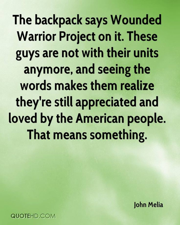 wounded warrior project quotes - Google Search