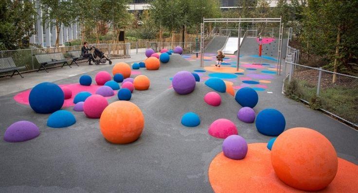 Parc du Petit Vallard – Gaillard (74) – Jeux d'extérieur – Professional Urba, l'…