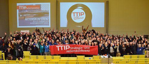 TTIP Strategie- und Aktionskonferenz Kassel 2016 26. und 27.Februar 2016 in Kassel / Universität Kassel