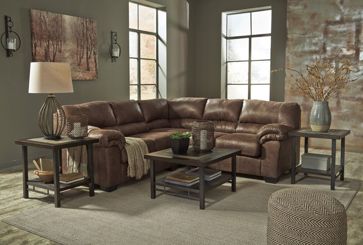 Bladen Coffee 2 Pc Laf Loveseat Sectional In 2019