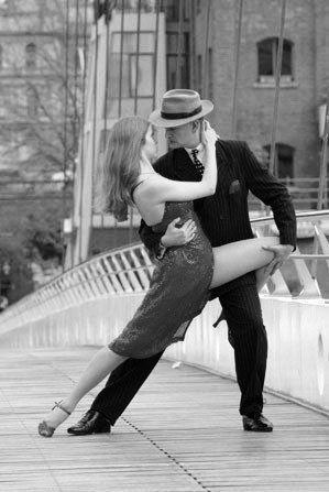 Doing the tango