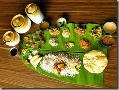 Kerala Onnam  Sadhya