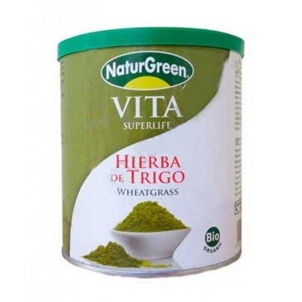 Hierba de trigo en polvo bio Naturgreen 200g