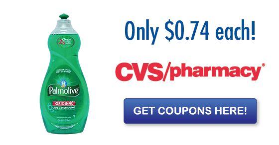 *HOT* New Palmolive Coupon = Only $0.74 at CVS!