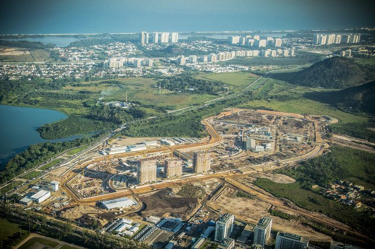 2016 Rio Olympic Games Athletes Village Under Construction. AFRICAN SPORTS MONTHLY - Home