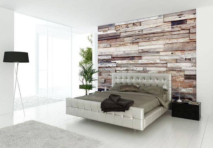 Dieses Master-Schlafzimmer sieht schick und anspruchsvoll mit seinen krassen weiß getünchten umgibt und strukturierten Blick.