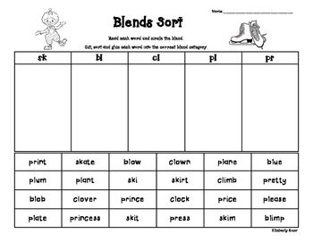 2nd Grade Fundations on Sh Digraph Word Sort Teacher Pay Teachers And