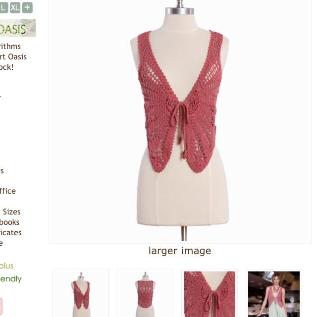 Love Crocheted vests!: Crochet Vest