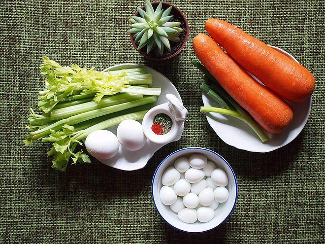 Eagle Eggs Ingredients, scotch egg, eagle eggs, recipe, vegetables, carrots, green