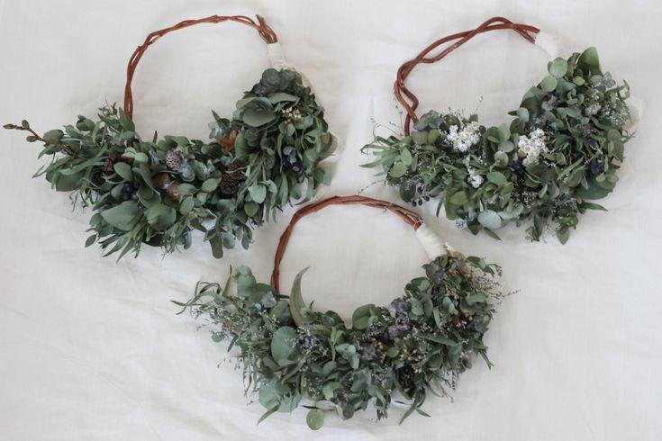 FLEURI (フルリ)| ドライフラワー dryflower リース wreath ブーケ 花束 スワッグ ユーカリ ハーフリース