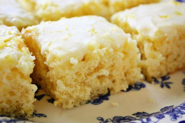 Easiest Lemon Brownies - Jenny Can Cook