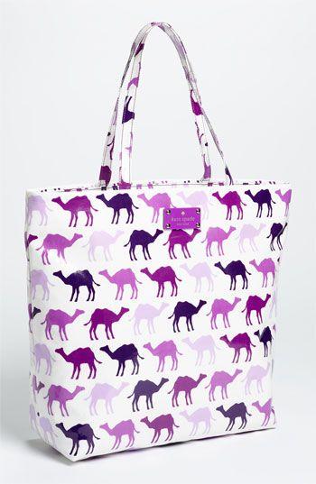 It gets bigger!!!: Coats Canvas, Camels Shopper, Bon Shopper, Lotsa Baggage, Canvas Bon, Camels Bags, New York, York Daycat, Kate Spade