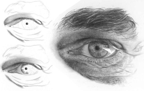 How to Draw a Realistic Eye  Artist made this tutorial to show the different steps that he take in drawing a realistic eye.