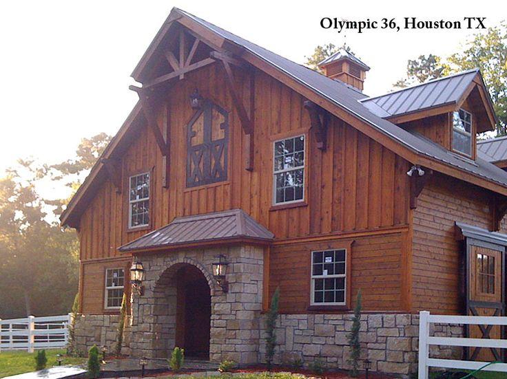 158 best images about homes on pinterest barndominium for Horse barn homes