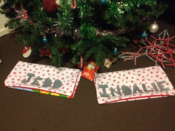 Santa sacks for the kiddies!