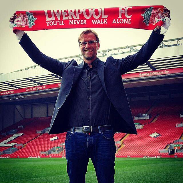 Liverpool FC for Jurgen Klopp.