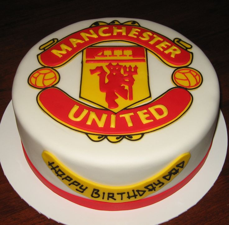 Let Them Eat Cake: Manchester United cake