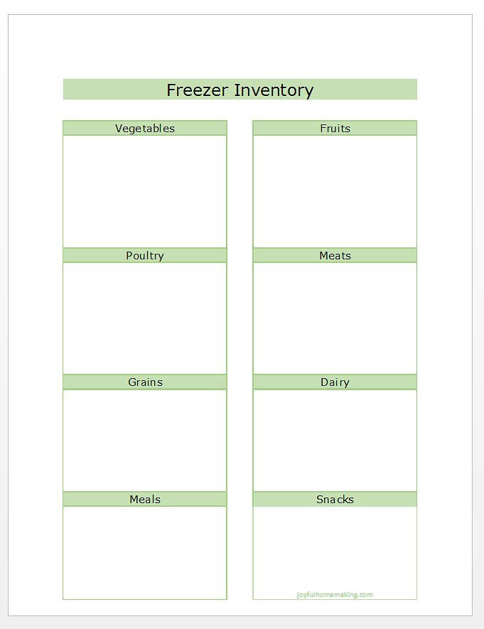 Best 25+ Freezer inventory printable ideas on Pinterest Pantry - inventory list sample