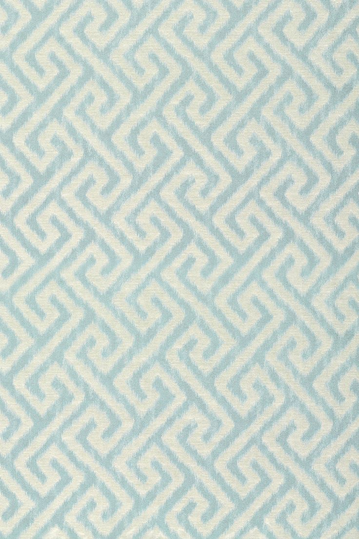 MALAY IKAT Turquoise W98689 Collection Shangri La From Thibaut