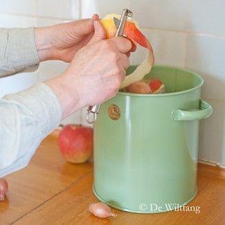 Haws keukencompostemmer 7Ltr saliegroen - Composteren - De Wiltfang