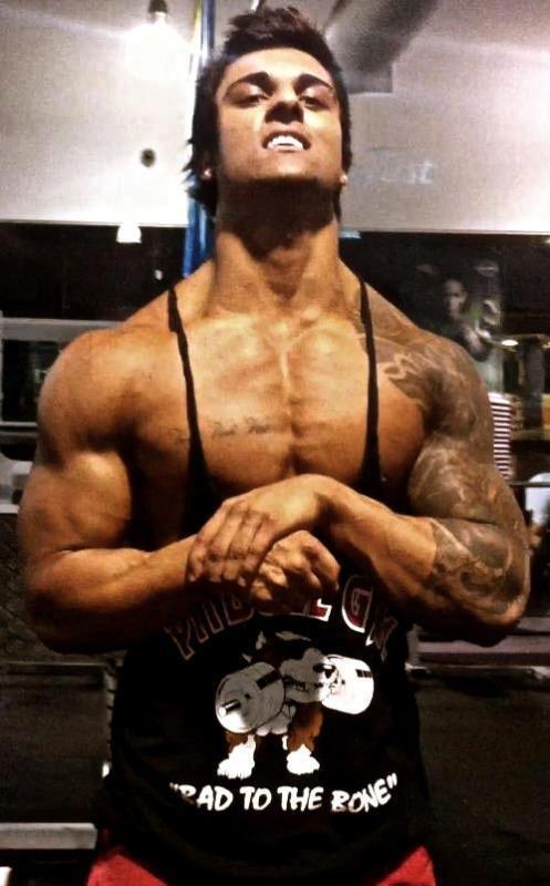 Zyzz workout routine
