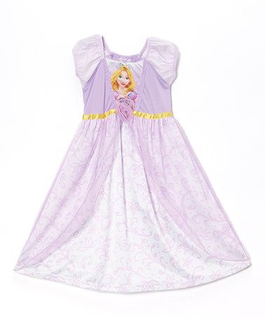 Loving this Purple Tangled Dress - Toddler on #zulily! #zulilyfinds