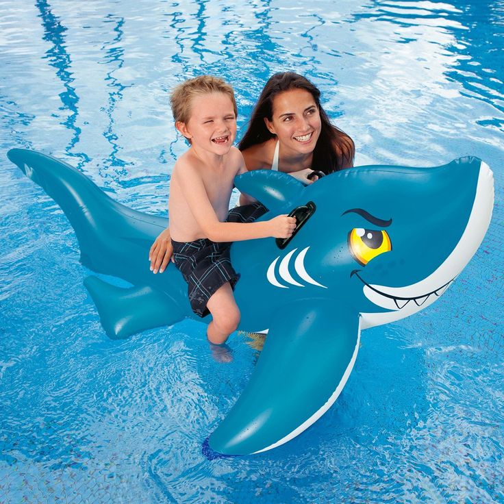 20 Best Images About Inflatable Shark Pool Toy On