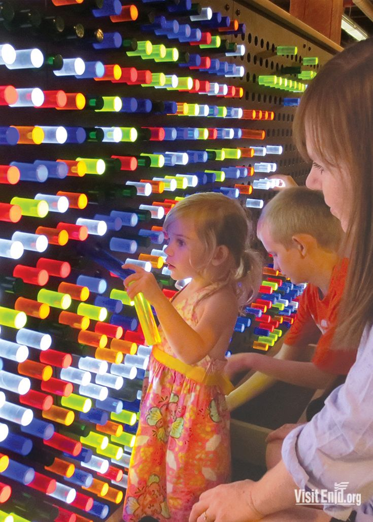 Leonardo's Children's Museum in Enid, Okla. is a hands-on arts and science museum where over one million children have played since it opened. The new and improved Leonardo's grand re-opening is April 30, 2016!