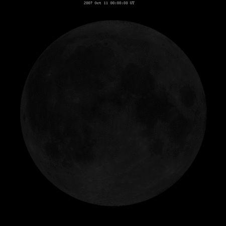 Calendario Lunar Mes Julio 2015 (España)