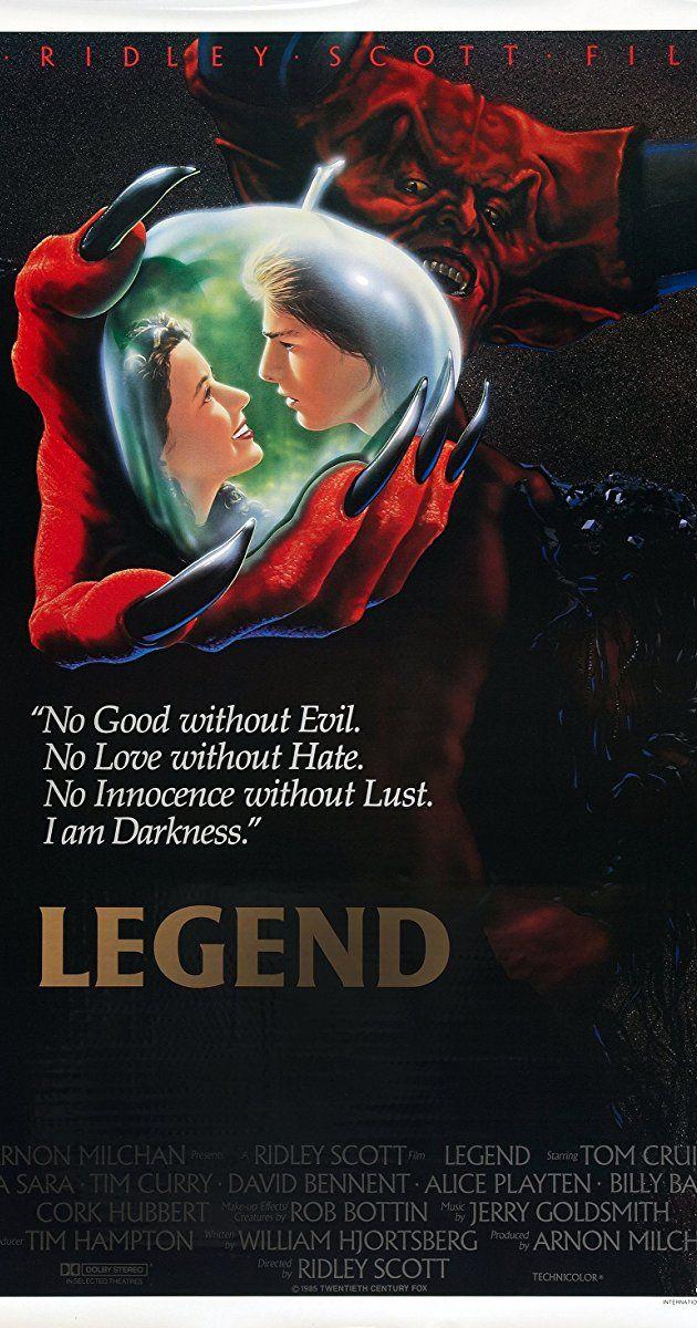 Legend (1985) - IMDb | Show & Tell (Rasmussen Edition) in 2019