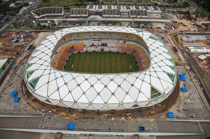 Arena da Amazônia , Manaos - http://riodejaneirobrasil.net/arena-da-amazonia-manaos/ #RioDeJaneiro #Brasil #Turismo