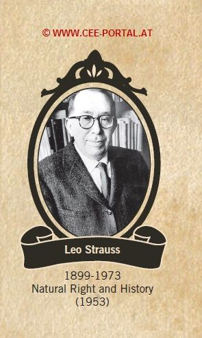 Leo Strauss 1899-1973 Natural Right and History (1953)