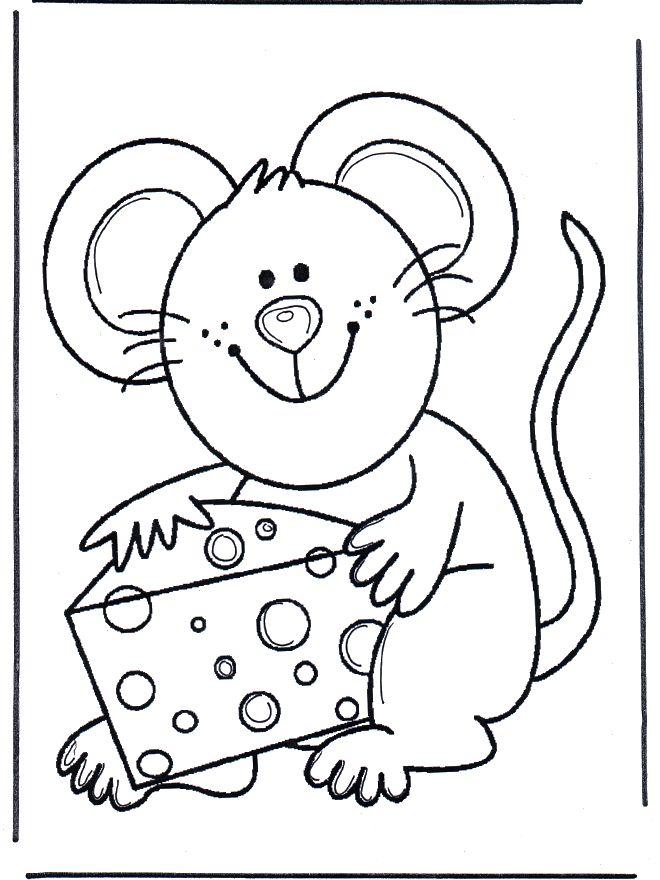fish and mouse mandala   Fargelegg.no / Småbarn / Fargeleggingstegning dyr / Sweet mouse