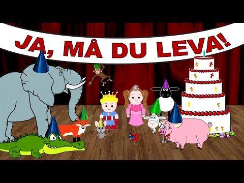 Ja, må du leva - med mera | Svenska barnsånger - YouTube