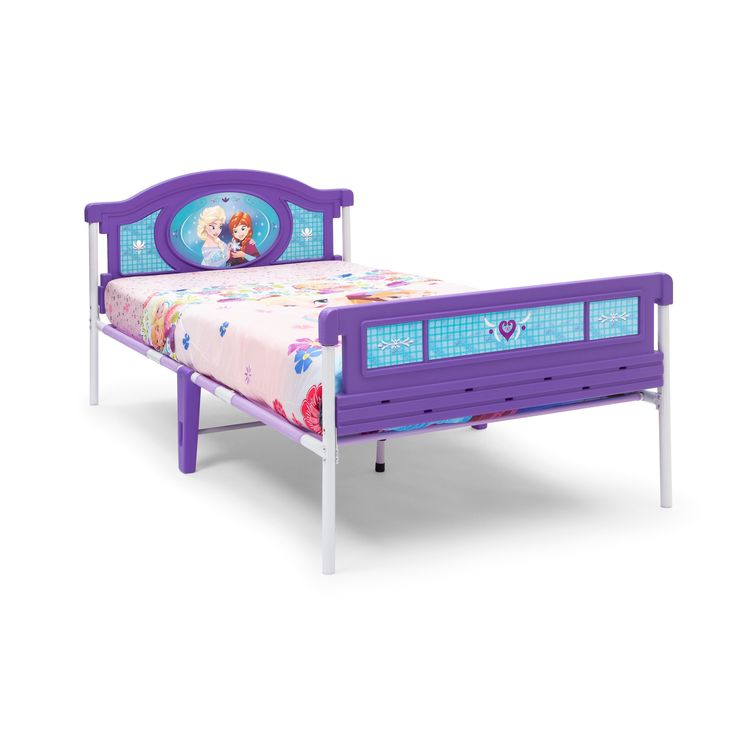 Disney Frozen Twin Bed by Delta Children (Twin Bed), Blue