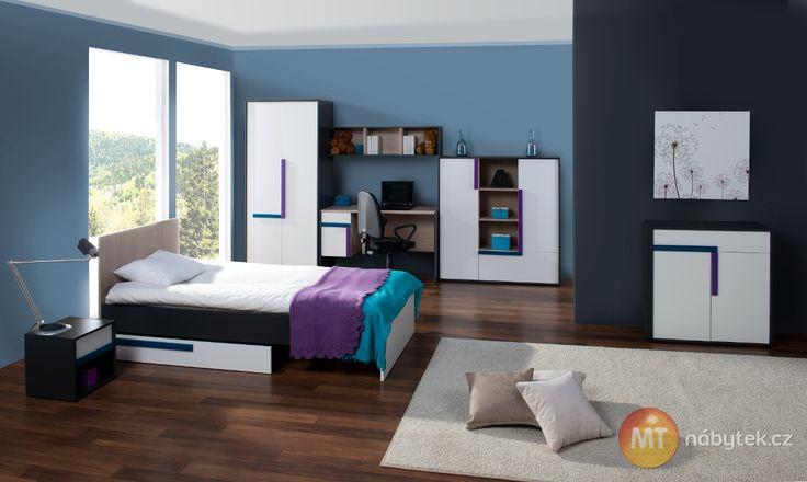 Nábytek do studentského/dětského pokoje  Julien furniture - kids and student bedroom