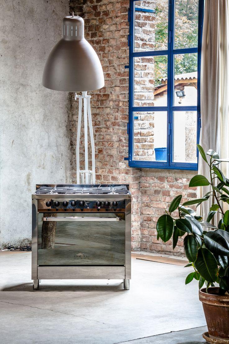Riflettore puntato sulla #cucina #Class #Bompani #architettura #design #arredamento #MadeInItaly #owen #forno #pianocottura #ItalianCulture #ItalianCuisine