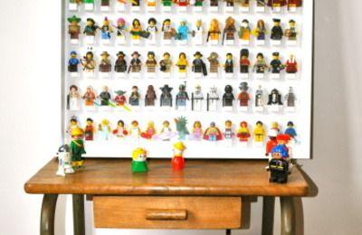 Ma vitrine de Lego Minifigures