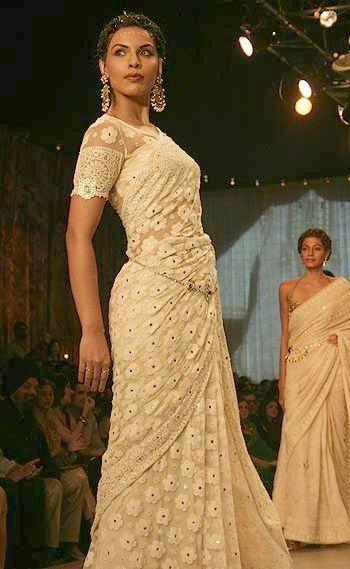 Luscious in Lace saree designer saree