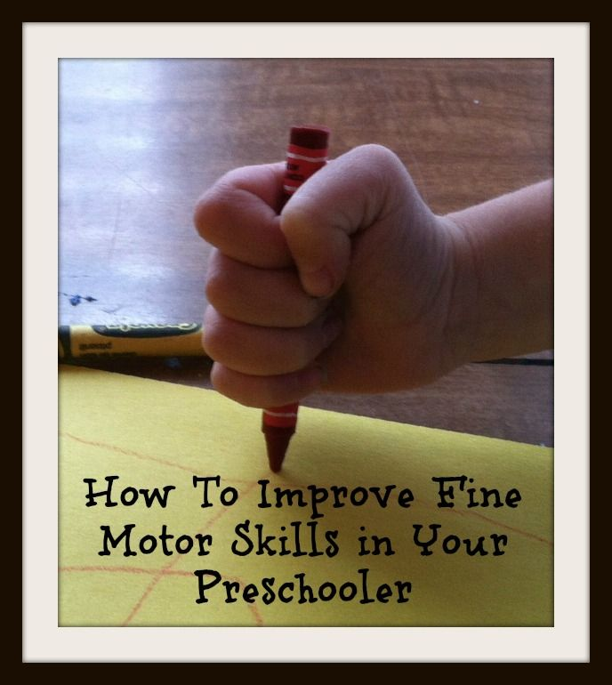 What every Mom needs to know about fine motor skills and tons of ideas on working it into daily life!