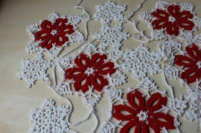 Interesting ideas for decor: Crochet garland. Part 2. ВЯЖЕМ ГИРЛЯНДЫ.