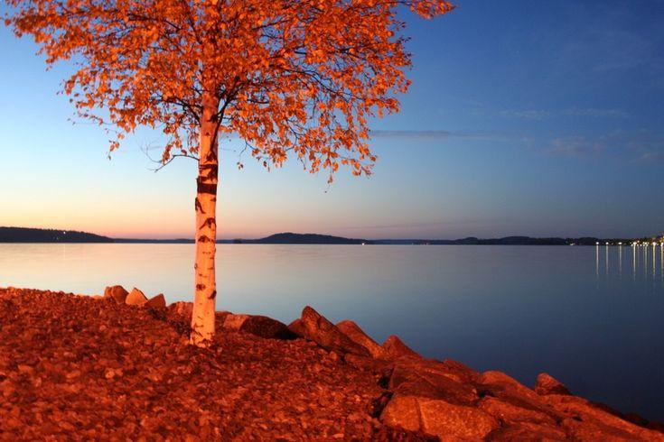 Vesijarvi -lake in Autumn - Lahti