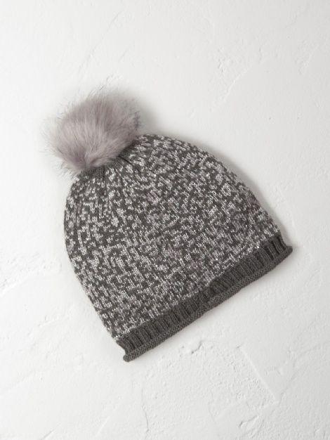 Sequin bobble hat